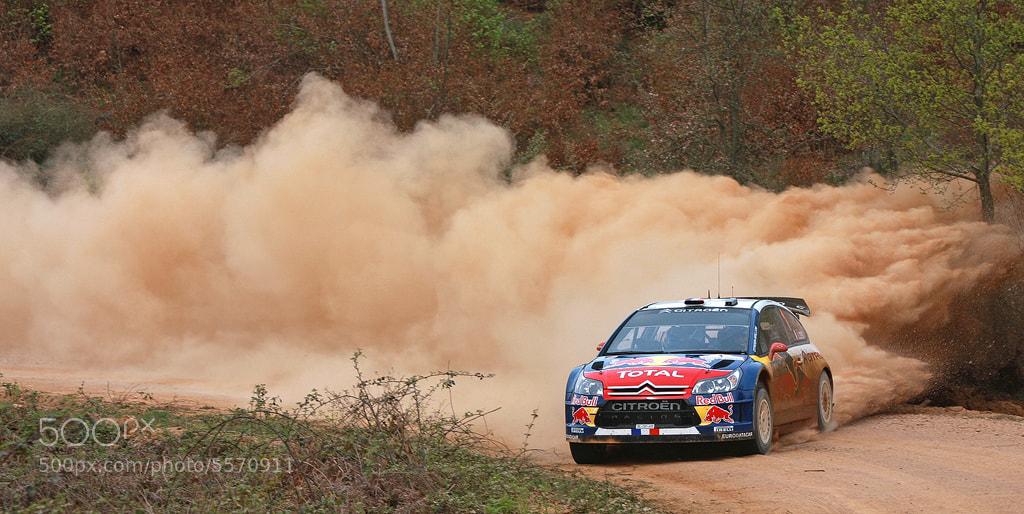 Photograph Sebastien Loeb - WRC Turkey 2010 by Ben Gilbert on 500px