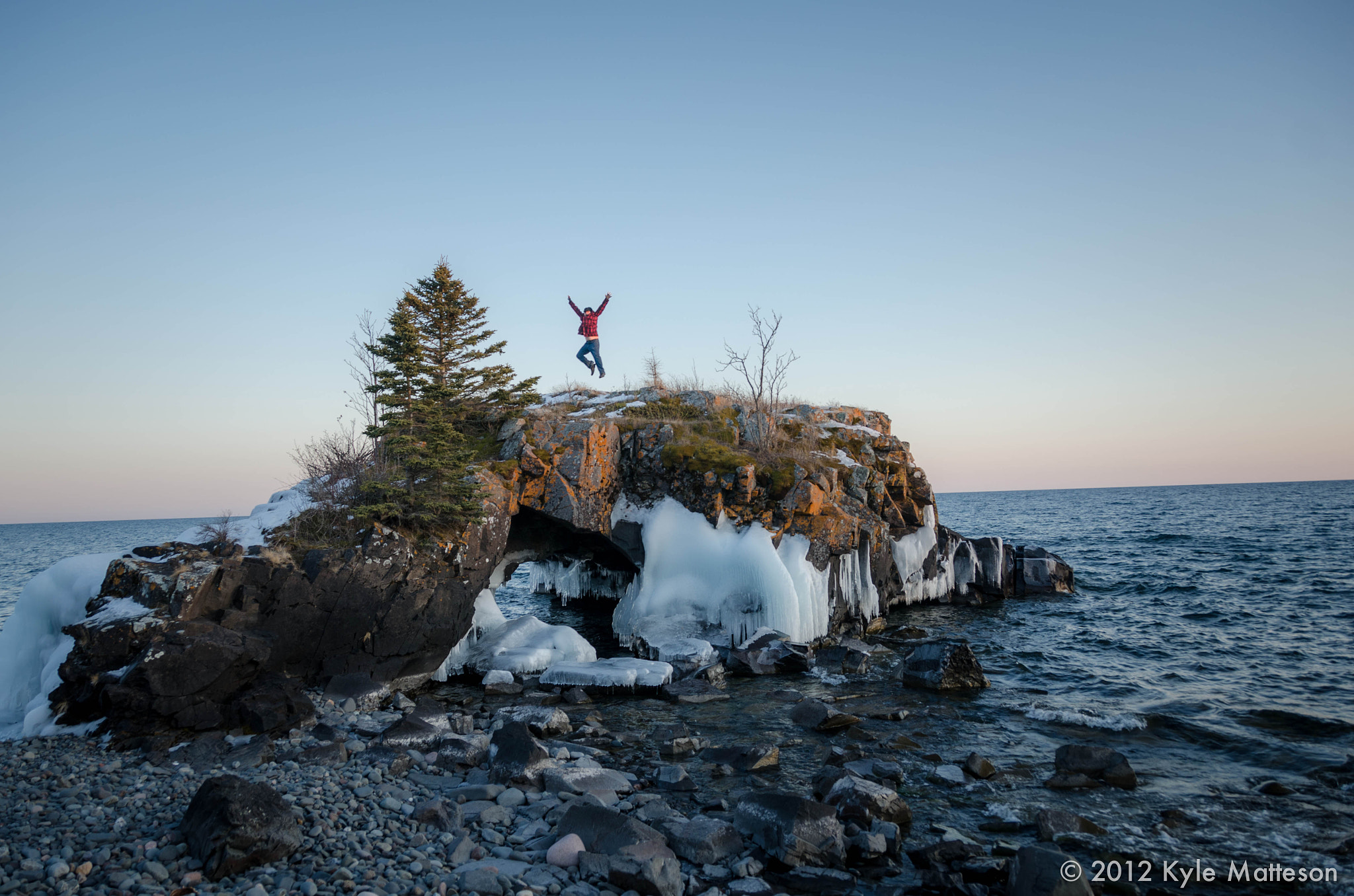 Photograph Hollow Rock Jump by Kyle Matteson on 500px