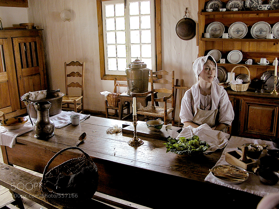 Photograph An old kitchen in Fort Louisbourg by Leo B. on 500px