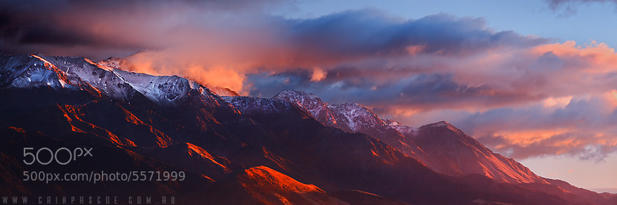 Photograph Burning Ranges by Cain Pascoe on 500px