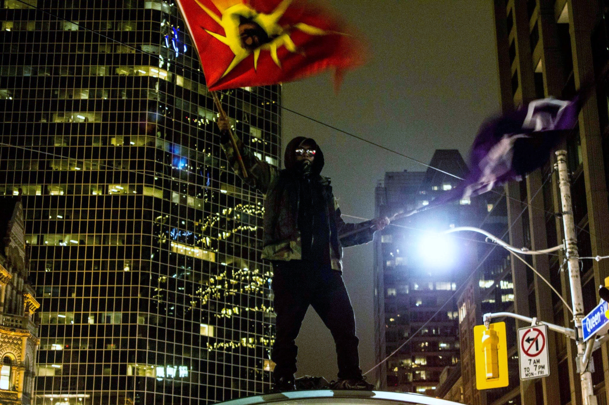 Photograph Idle no more protester by David Chu on 500px