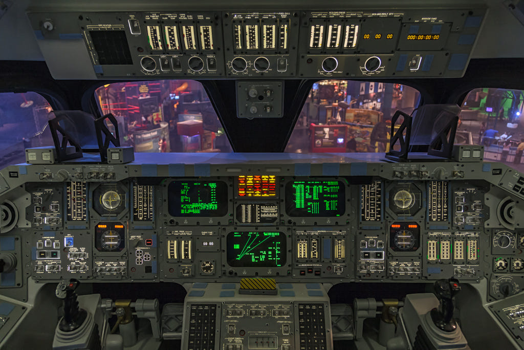 Space Shuttle Control Panel By Tom Harrison
