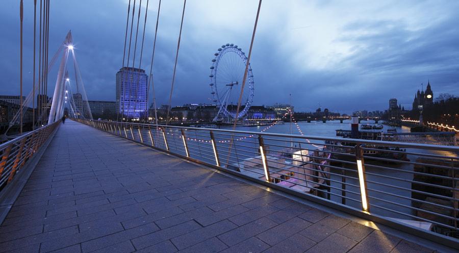 Blue Dawn, Jubilee Bridge