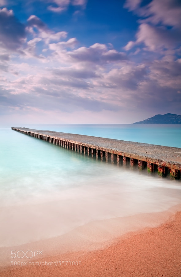 Photograph Sunrise @ Cannes La Bocca (French Riviera) by Eric Rousset on 500px