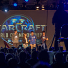 Постер, плакат: Starcraft 2 Event in Toronto InterviewTrashTalk