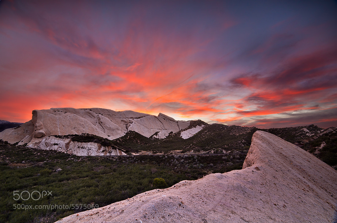 Photograph Mormon Rocks Sunset by Matthew Kuhns on 500px