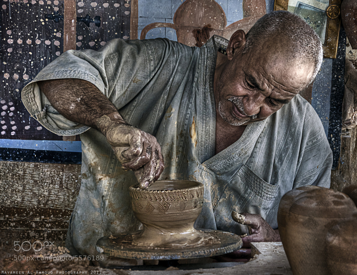 Photograph Pottery Man by Mayameen AlHamoud on 500px