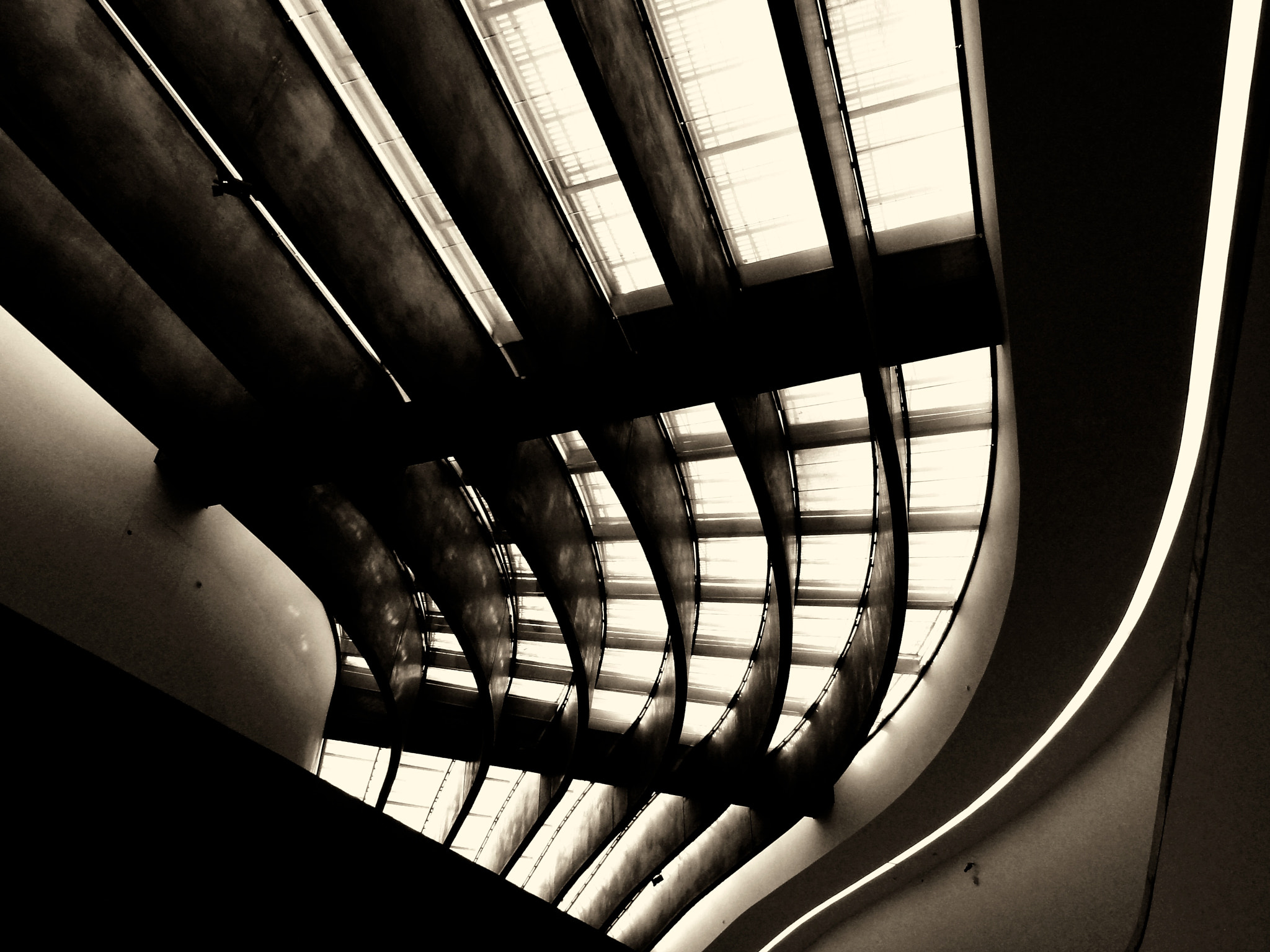 Photograph MAXXI Rome - Lines and curves by Claudio Cavalensi on 500px