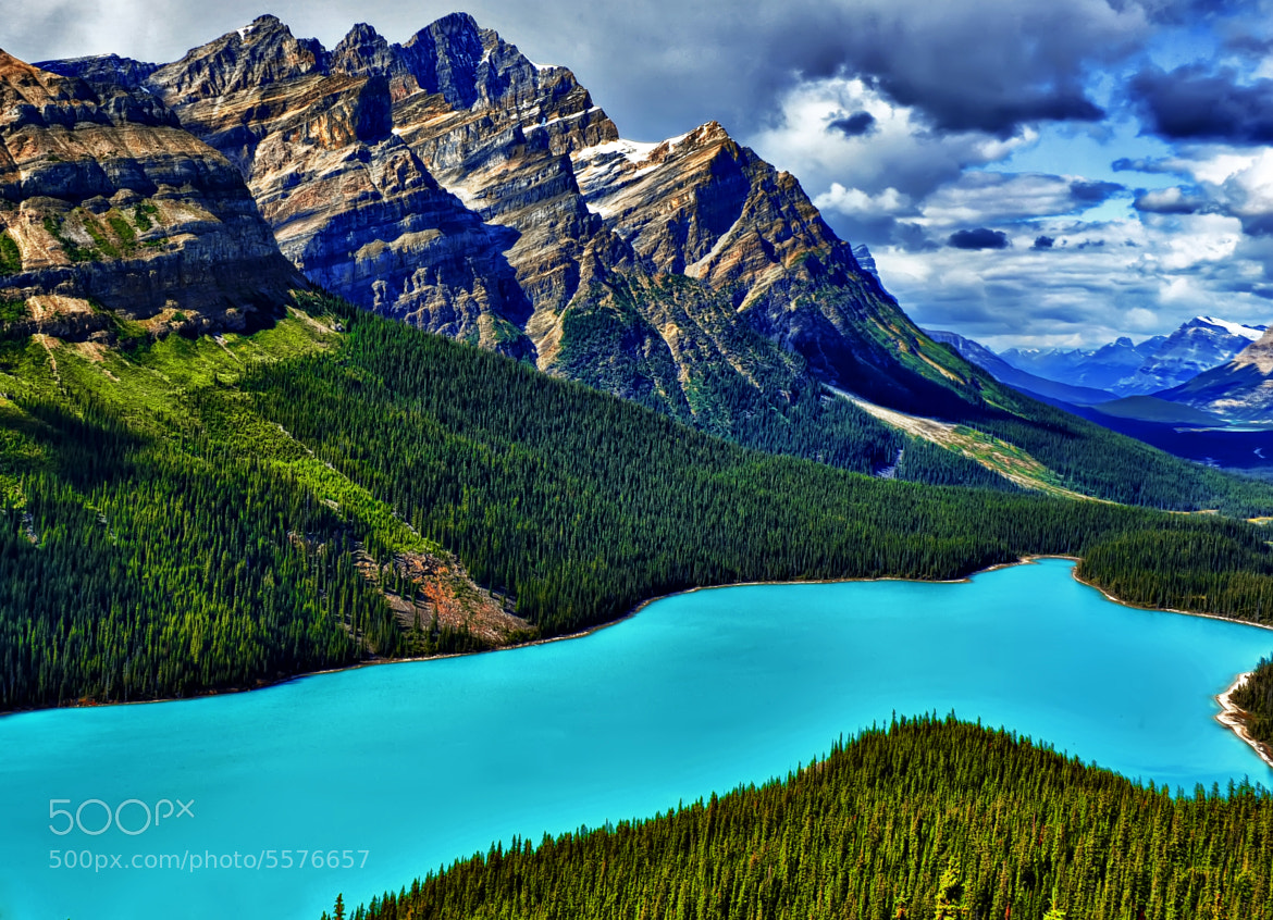 Photograph Peyto Blue Magic by Jeff Clow on 500px