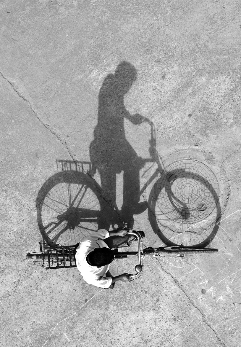 Photograph Shadow B&W by Krishna Angira on 500px