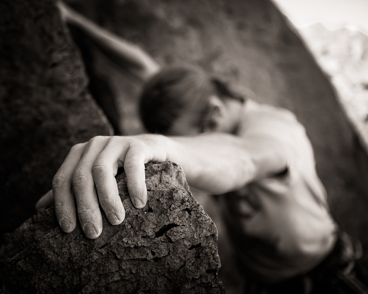 Photograph Climbing Hand by Erik Unger on 500px