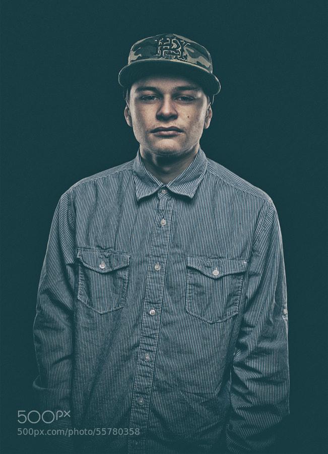 Portrait for a local Artist/Musician/Rapper