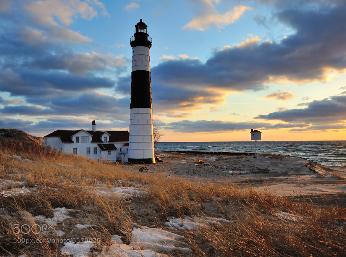 "Photograph ""A Guiding Light""   Big Sable Point Lighthouse - Ludington, Michigan by John McCormick on 500px"