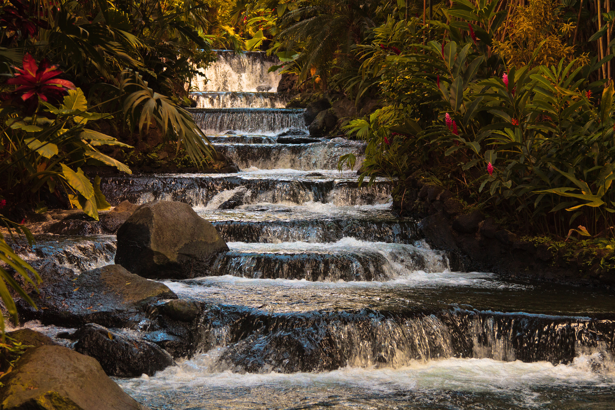 Photograph Tabacon main Waterfalls by Etienne Tremblay on 500px