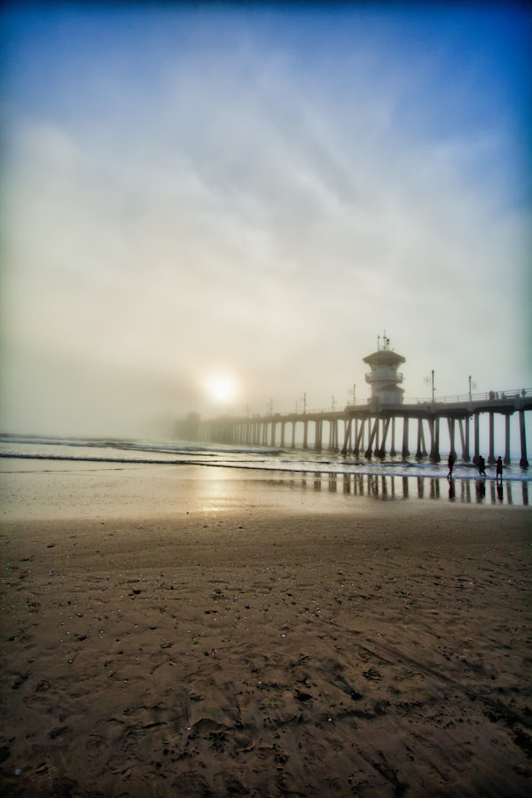Photograph Pier Into The Fog by Shane Lund on 500px