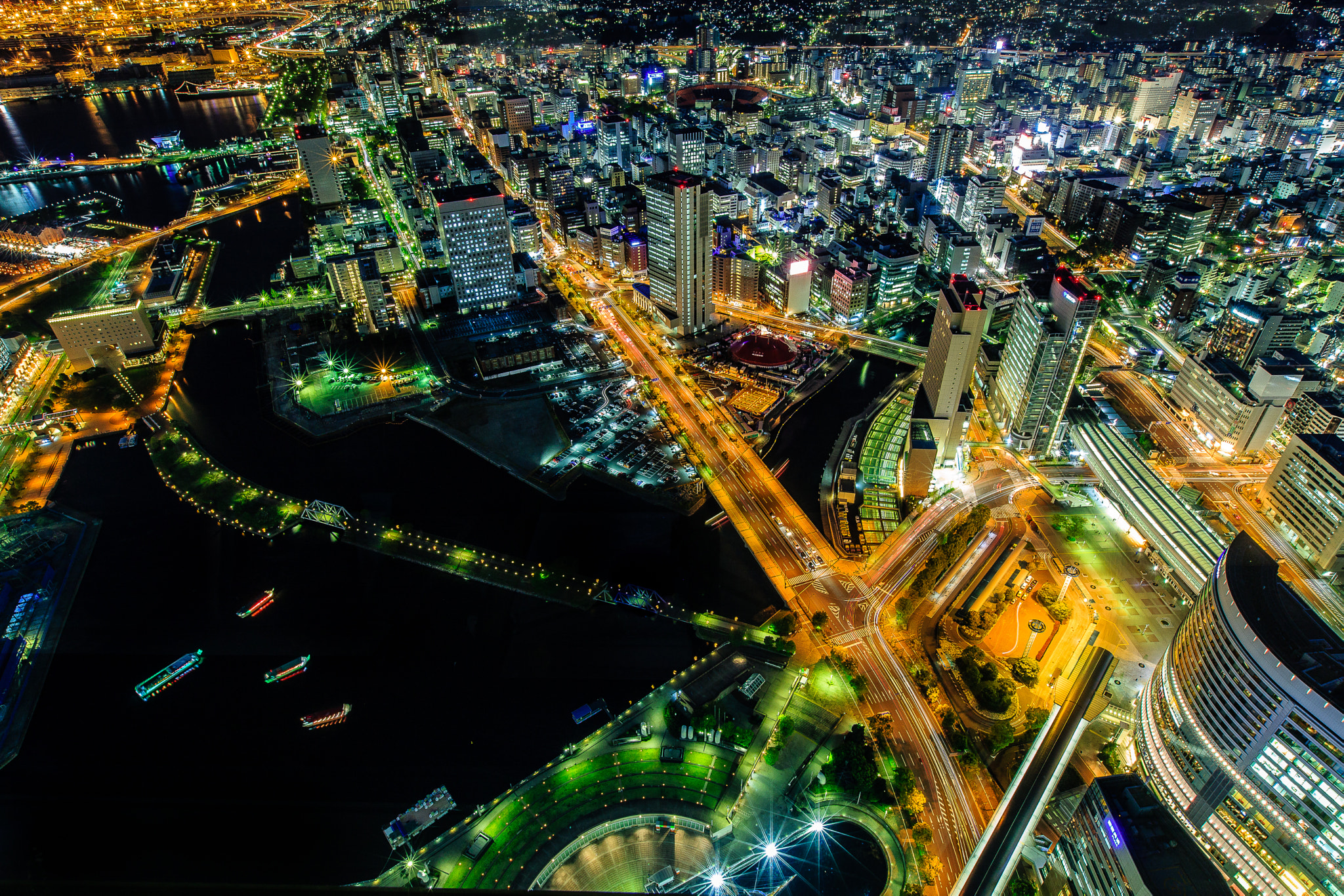 Photograph Yokohama by night 4 by Huy Tonthat on 500px