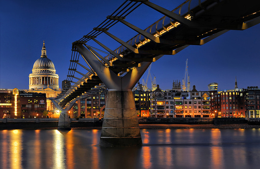 Photograph Millennium Bridge # 2 by Aubrey Stoll on 500px