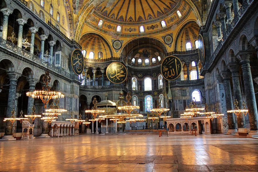 Photograph Colors Of Hagia Sophia by Burak Arik on 500px