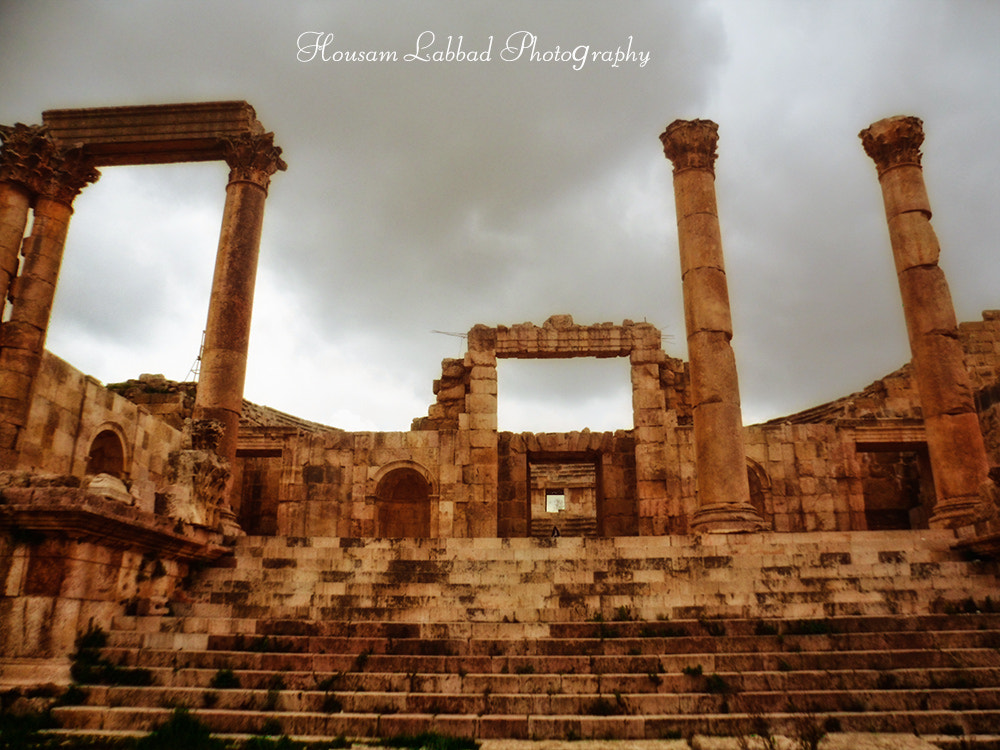 Photograph The Entrance of The Roman Theater in Jerash by Housam A Labbad on 500px