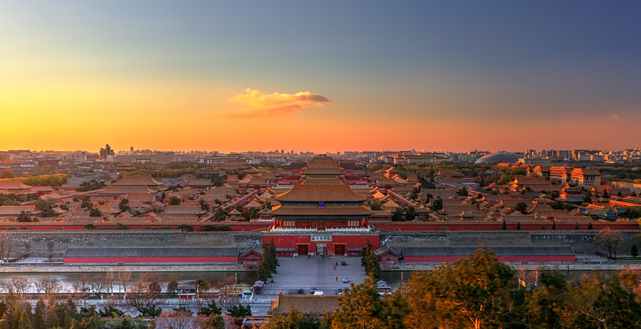 Photograph Dawn of old city by Haiwei Hu on 500px