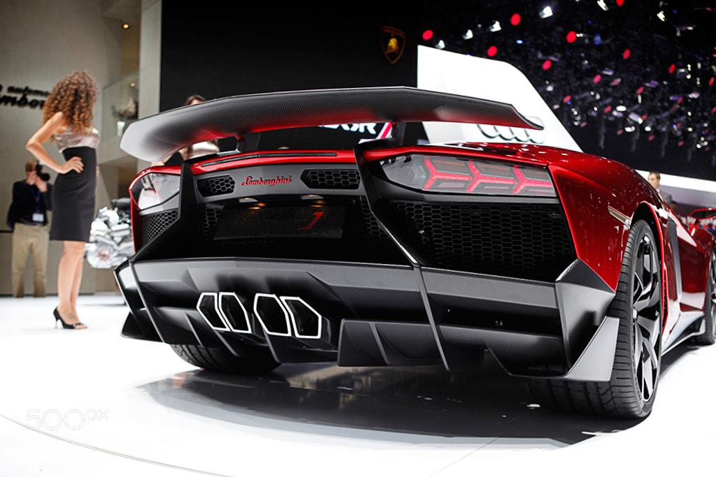Photograph Lamborghini Aventador J by Alex Teuscher on 500px
