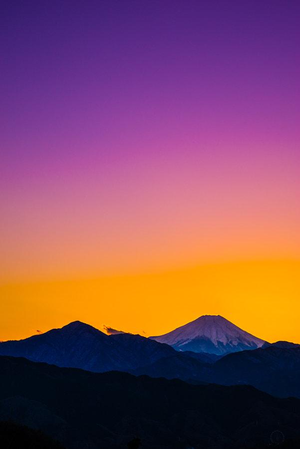 Fuji(夕の色)