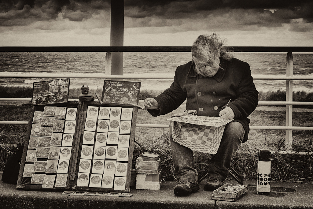 Photograph The artist by Ineke Nientied on 500px