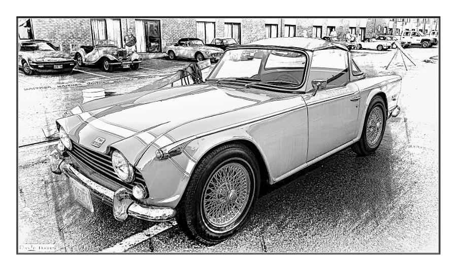 1968 Triumph TR250-2bw