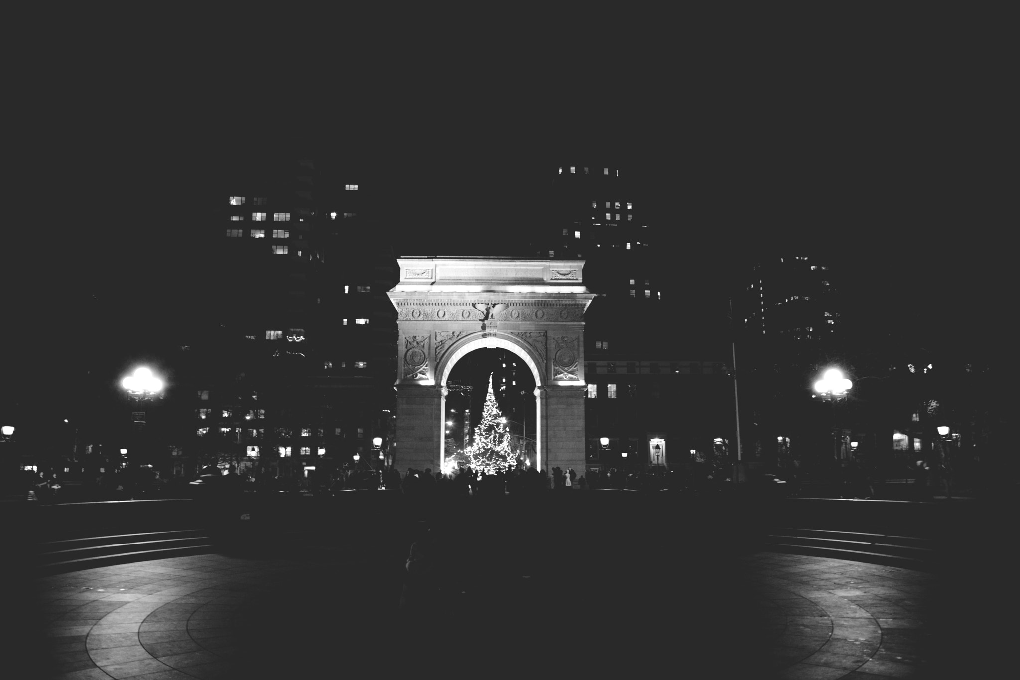 Photograph Washington Square During the Holidays by Apostolos Stefanopoulos on 500px