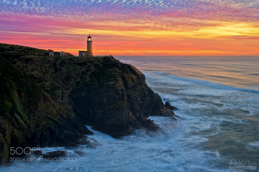 Photograph Cape Disappointment by Tyson Poeckh on 500px