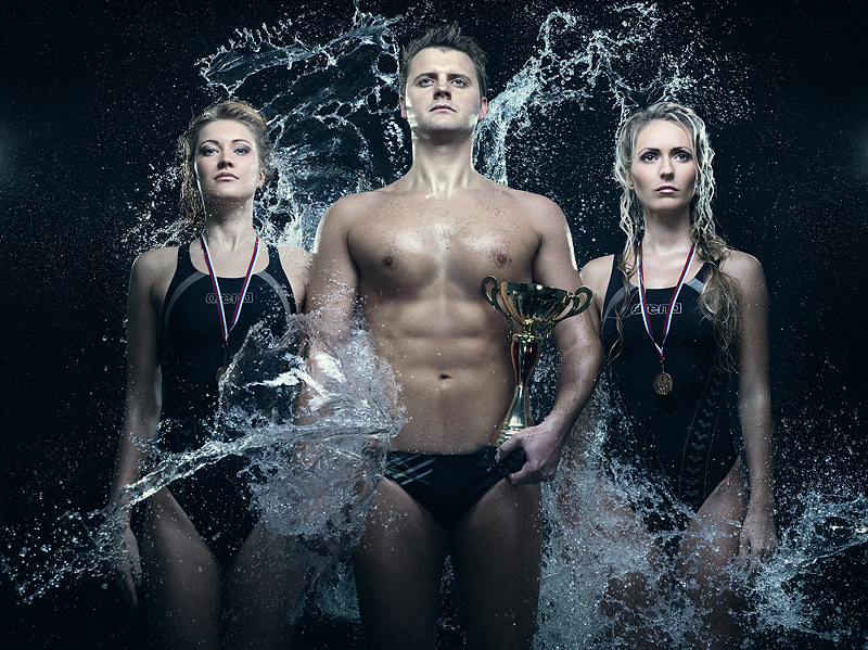 Photograph World Class. Swimming. Champions by Vladimir Zotov on 500px