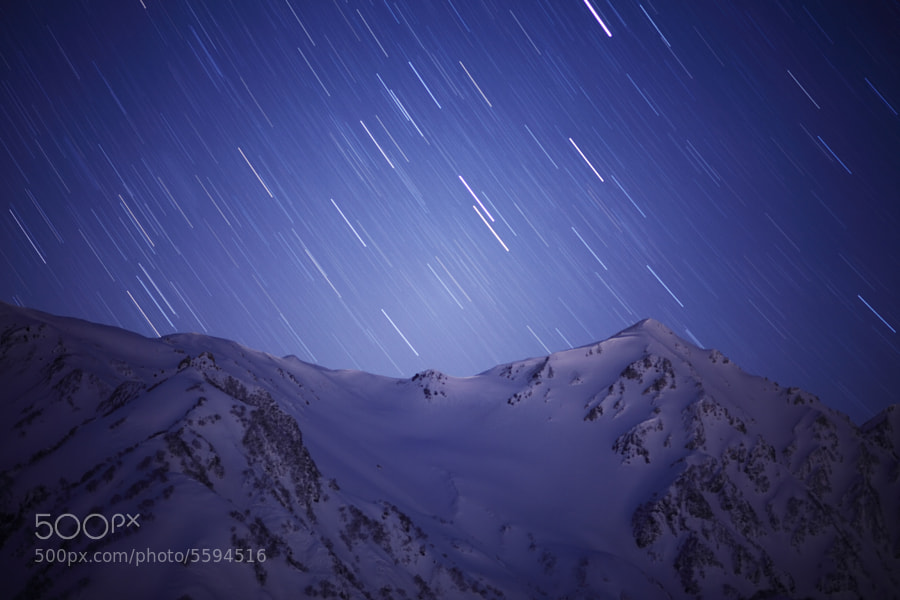 Startrails by Noriko Tabuchi (white-roots) on 500px.com
