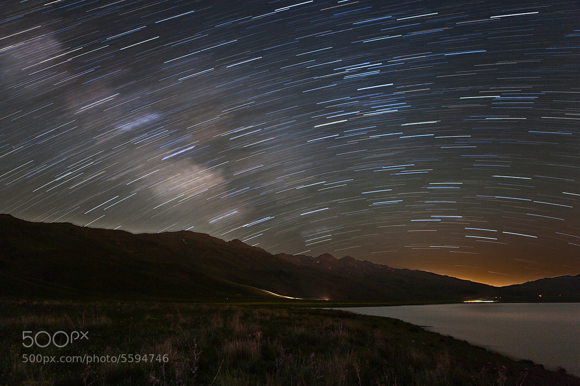 Photograph Night sky! Neor's Lake Protected Area by Emad Nematollahi on 500px