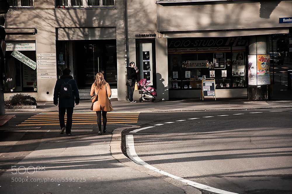 Photograph A couple on Street by Vorravut Thanareukchai on 500px