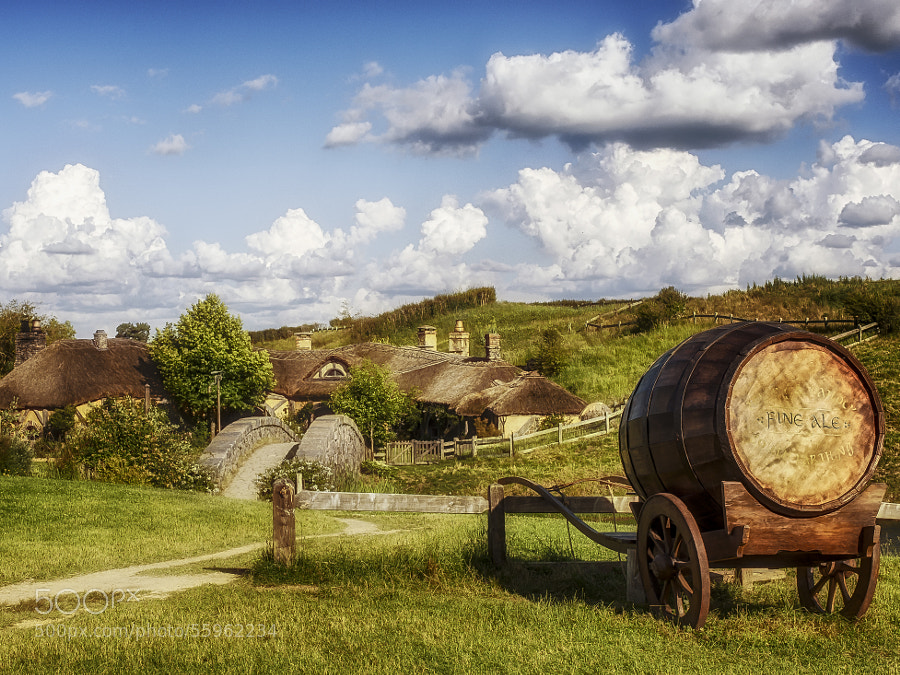 Photograph Hobbiton Green Dragon by Kay Brocks on 500px