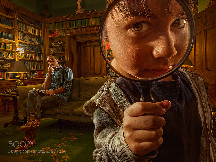 Photograph Little Sherlock ;) by Adrian Sommeling on 500px