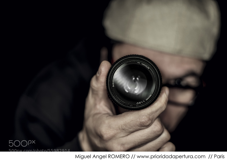Self Portrait by Miguel Romero on 500px.com