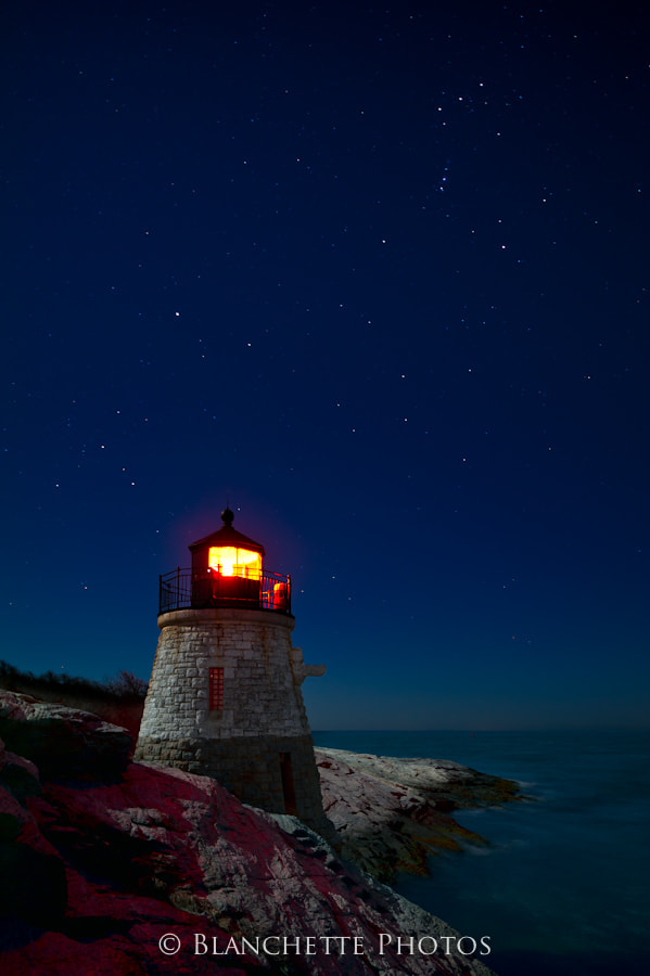 Photograph Stars at Castle Hill by Michael Blanchette on 500px