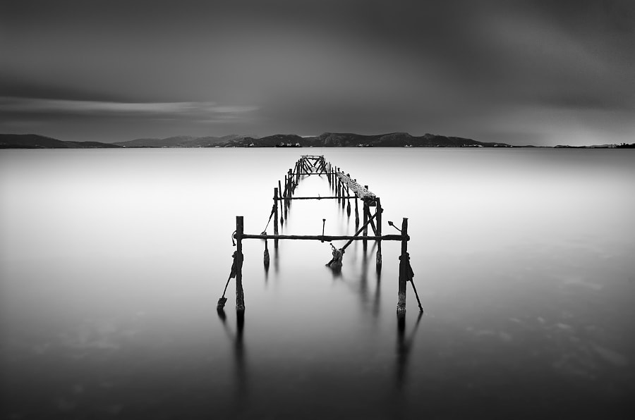 Fine Art Landscape Photograph Almost Infinity by Architectural and Landscape Photographer Julia Anna Gospodarou