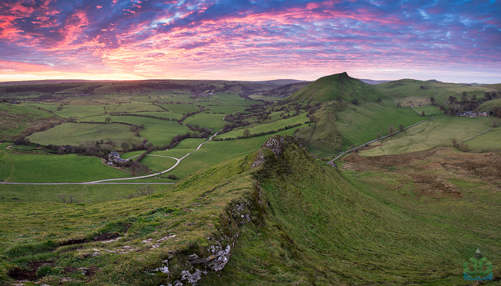 Photograph Parkhouse Hill Fiery Skies by James Grant on 500px