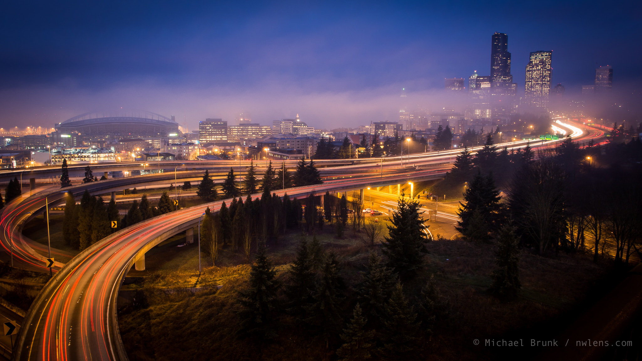 Photograph Foggy Morning in Seattle by Michael Brunk on 500px