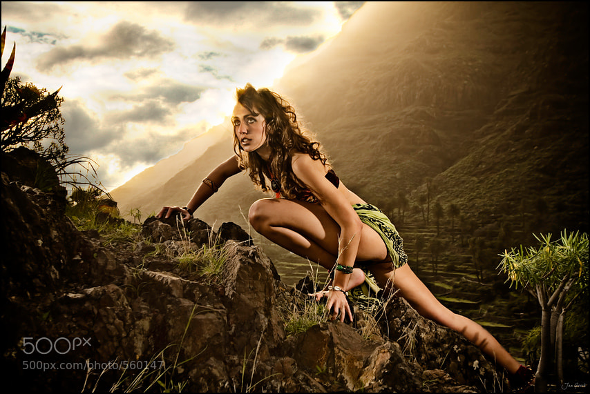 Photograph Hannah Gomera and the Hill of Doom by Jan Geerk on 500px