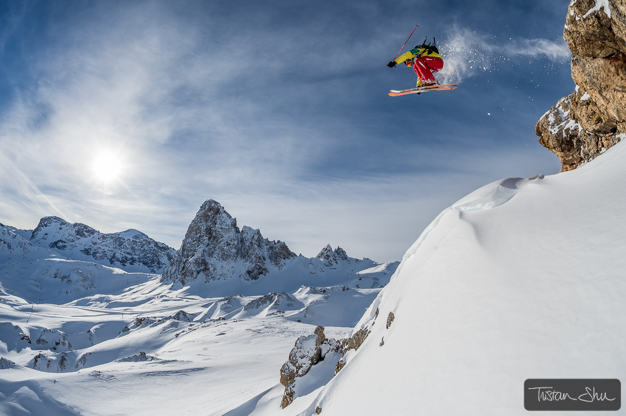 Photograph Today in Tignes with David Quichante by Tristan Shu on 500px