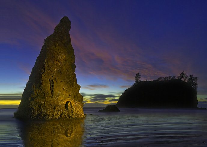 Photograph Light Painting At Ruby Beach by Kevin McNeal on 500px