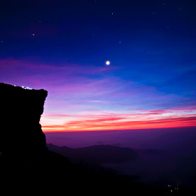 StarGazing before SunRise by Chanakan Santikunaporn (solute)) on 500px.com