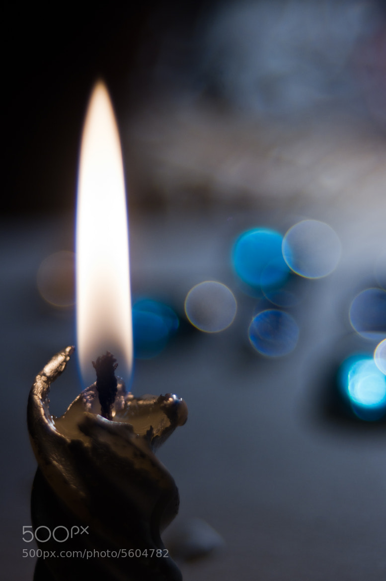 Photograph silver candle by Linara Khis on 500px