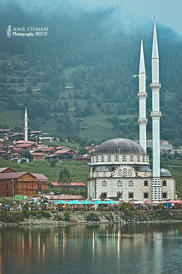 Photograph Uzungol Lakeside Mosque by Amr Osman on 500px