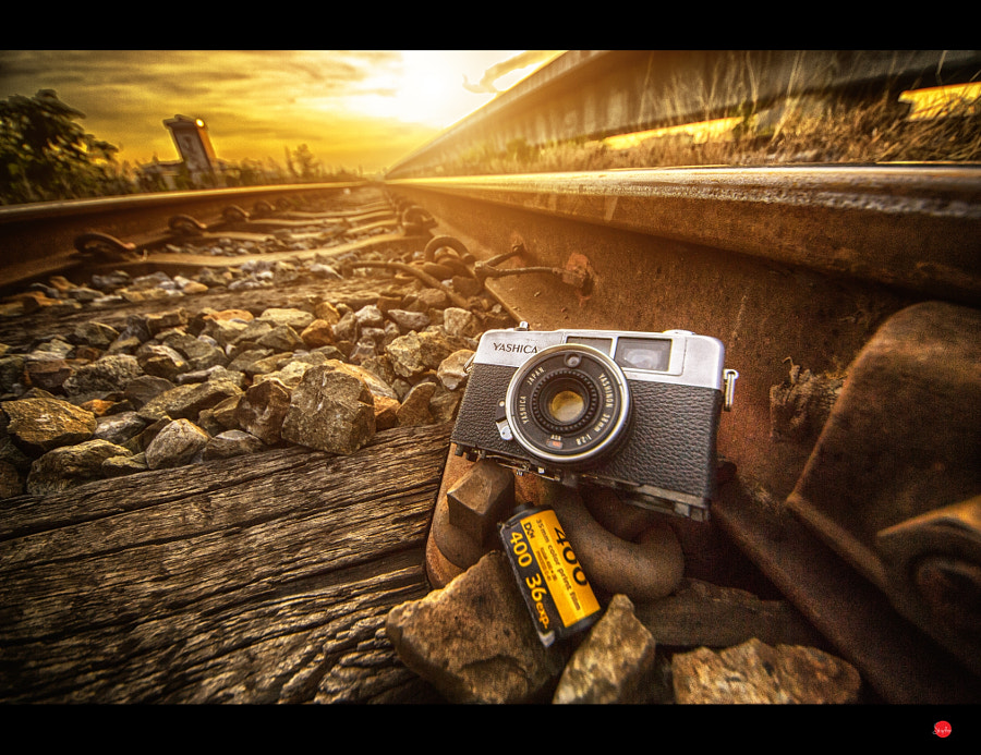 Photograph Film & The Rail Road by Phoomin Karagate on 500px