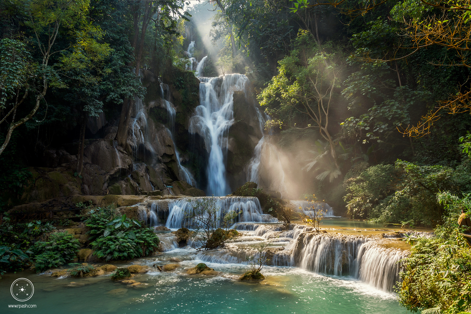 Photograph Tadklangsi waterfall, laos by jaruwat pulsup on 500px