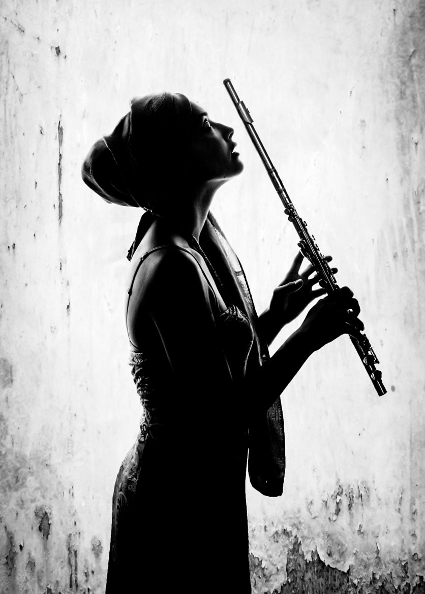 Photograph Flutist by Florence Le Guyon on 500px